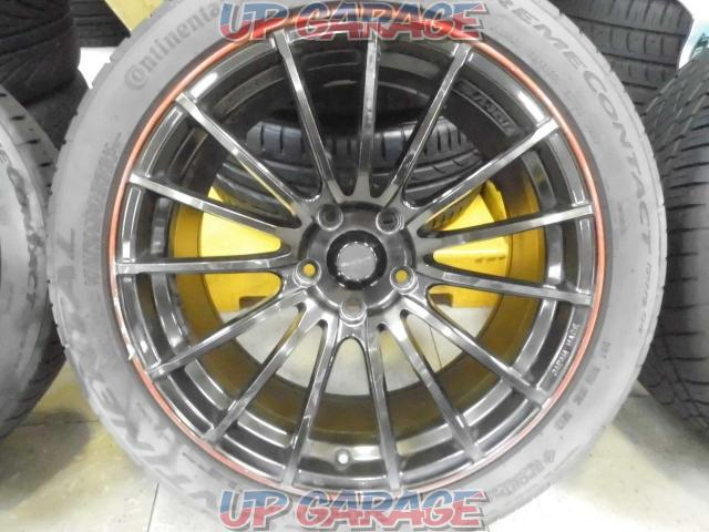 WedsSport SPORT SA-15R + Continental EXTREME CONTACT DWS06-01