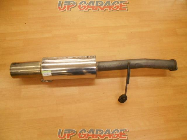 Unknown Manufacturer Cannonball type muffler-01