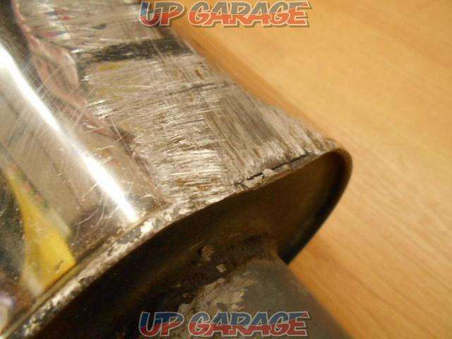 Unknown Manufacturer Cannonball type muffler-02