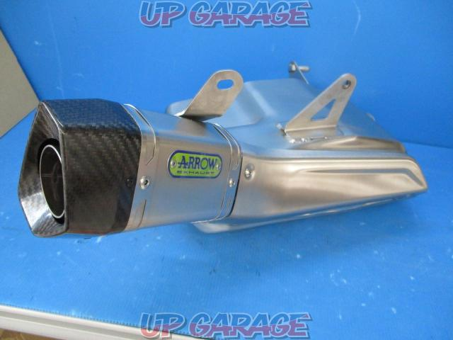 Triumph Street Triple 765 RS Made by ARROW Optional slip on muffler-01