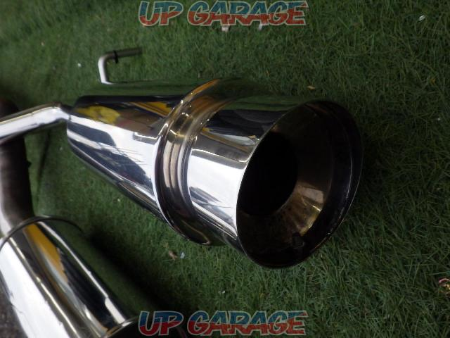 Unknown Manufacturer Made of stainless steel Cannonball type muffler-02