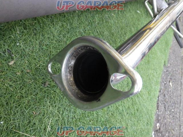 Unknown Manufacturer Made of stainless steel Cannonball type muffler-03