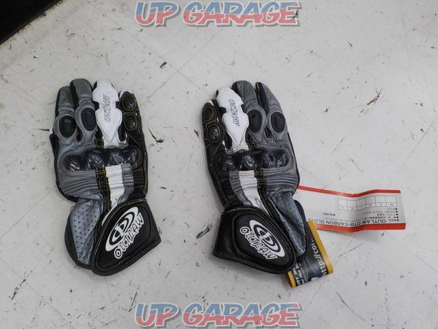 CORIN OUTLOW OTG carbon leather gloves M size-01