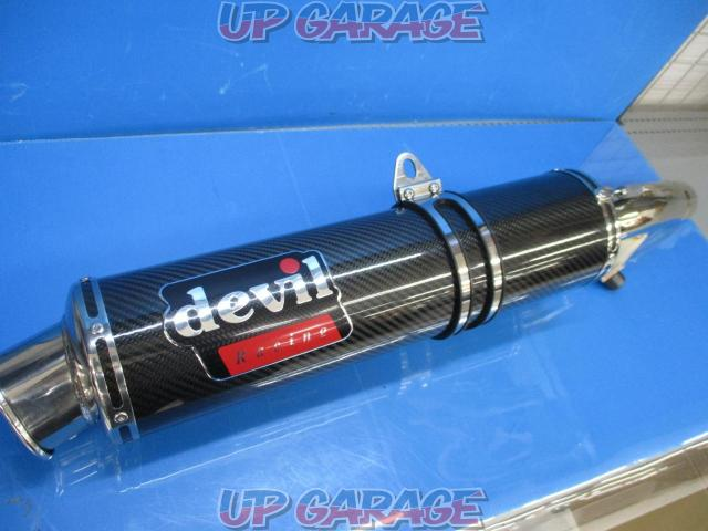 Devil (Devil) Banded 1250F Slip-on silencer JMCA: 1012108014-01