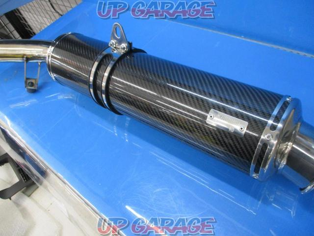 Devil (Devil) Banded 1250F Slip-on silencer JMCA: 1012108014-02