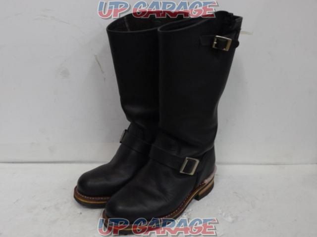 GoldenRetriever Ladies Long Engineer Boots Size 24.0cm-01