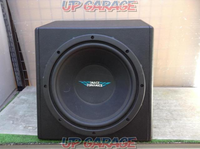 IMAGE DYNAMICS IDQ12V.3 + MAVERIC PMHZ-720 Amplifier woofer set with BOX-01