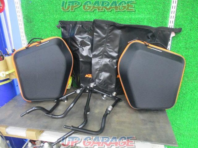 KTM Genuine pannier bag + support set KTM DUKE390 ('15)-01