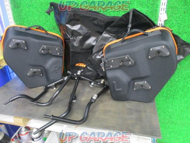 KTM Genuine pannier bag + support set KTM DUKE390 ('15)-02