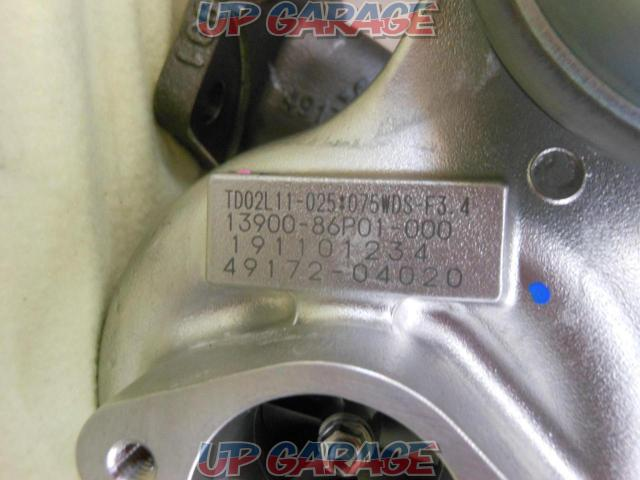 SUZUKI Swift Sport ZC33S Genuine turbine-02