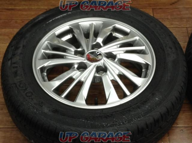 [For genuine diversion and vehicle inspection!] NISSAN C26 Serena AUTECH Rider original wheel + YOKOHAMA BluEarth-03