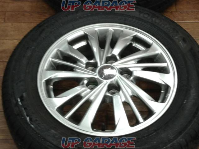 [For genuine diversion and vehicle inspection!] NISSAN C26 Serena AUTECH Rider original wheel + YOKOHAMA BluEarth-05