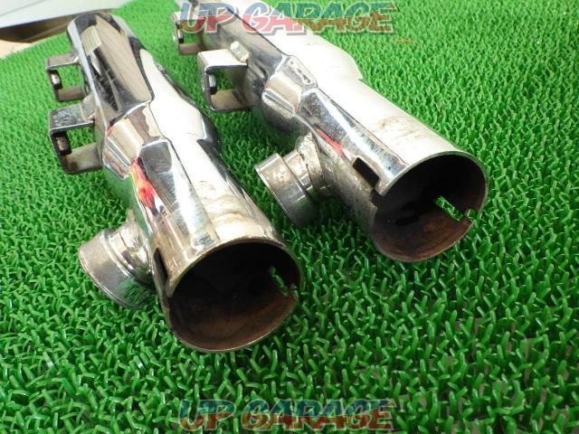 Unknown Manufacturer Slash cut mufflers 2 piece set-07