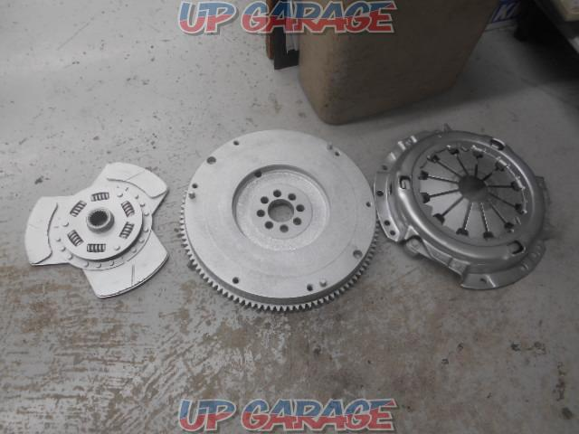 TRD Clutch cover - + Disk + Toyota AE86 Caro-La Levin late genuine flywheel-01