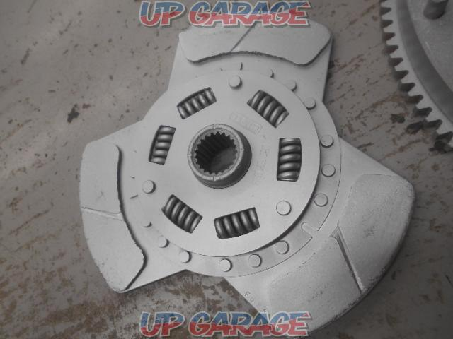 TRD Clutch cover - + Disk + Toyota AE86 Caro-La Levin late genuine flywheel-02