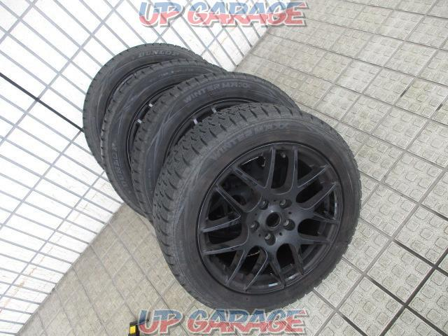 Sabae warehouse manufacturer unknown Mesh aluminum wheel + DUNLOP (Dunlop) WINTERMAXX WM01 4/4-01