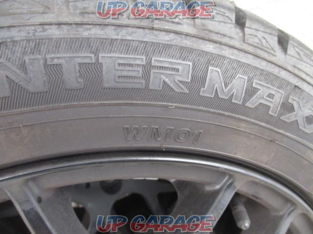 Sabae warehouse manufacturer unknown Mesh aluminum wheel + DUNLOP (Dunlop) WINTERMAXX WM01 4/4-02