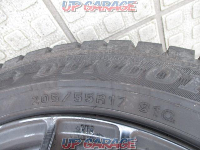 Sabae warehouse manufacturer unknown Mesh aluminum wheel + DUNLOP (Dunlop) WINTERMAXX WM01 4/4-04