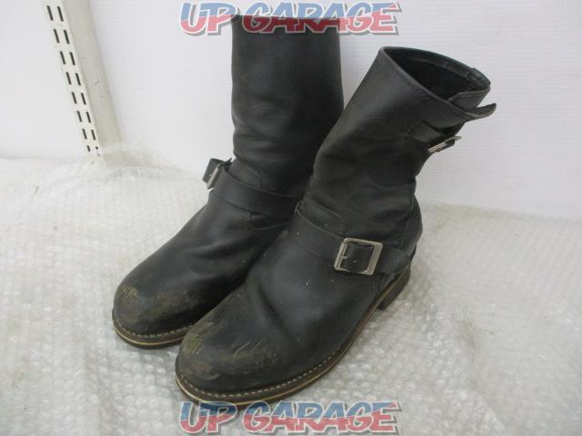 gorilla Leather engineer boots No size notation around 27cm?-01