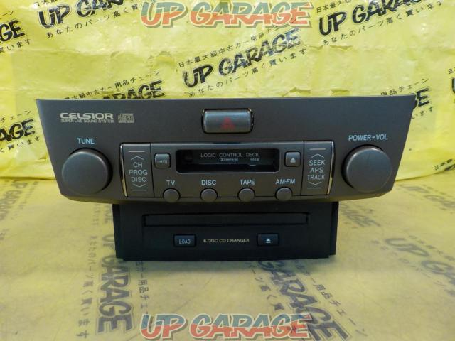 Toyota original (TOYOTA) 30 series Celsior Late version Genuine cassette CD changer-01
