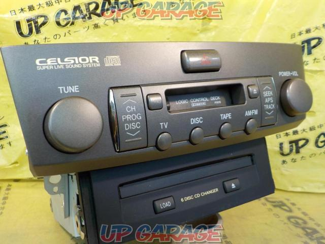 Toyota original (TOYOTA) 30 series Celsior Late version Genuine cassette CD changer-02