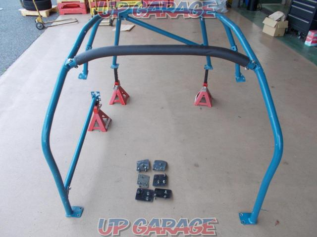 Unknown Manufacturer 8-point roll bar + side bar (driver's seat) Aluminum Product cannot be shipped for large items It becomes the only over-the-counter sales-05