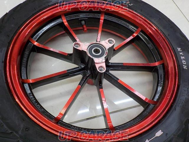 PRM Racing Front wheel + DURO (tire)-02