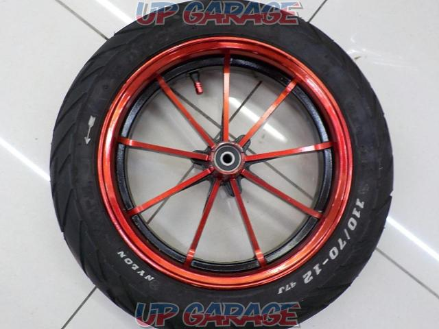PRM Racing Front wheel + DURO (tire)-05