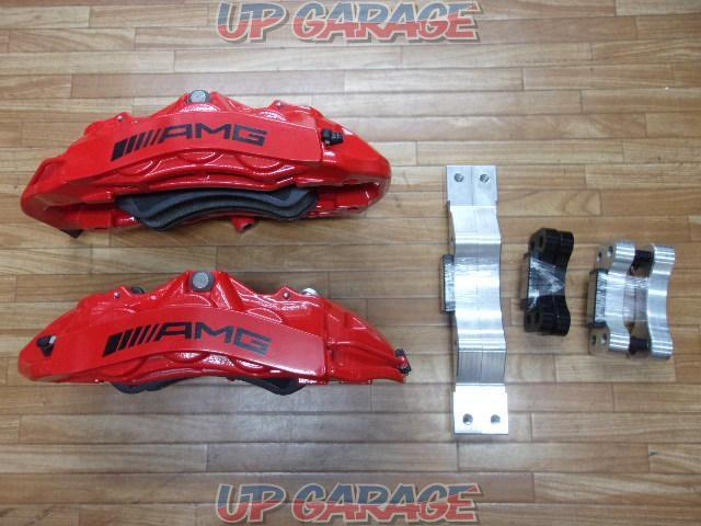 AMG C63 Coupe (W204) Genuine brembo Opposite 6POD front caliper-01