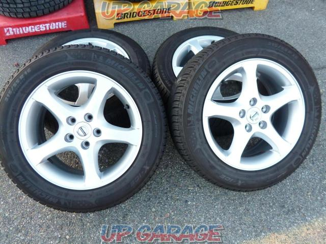 Imported car genuine (Pure parts of imported automobile) VOLVO V60 original wheel + MICHELIN X-ICE XI3-01