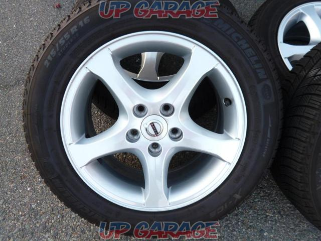 Imported car genuine (Pure parts of imported automobile) VOLVO V60 original wheel + MICHELIN X-ICE XI3-02