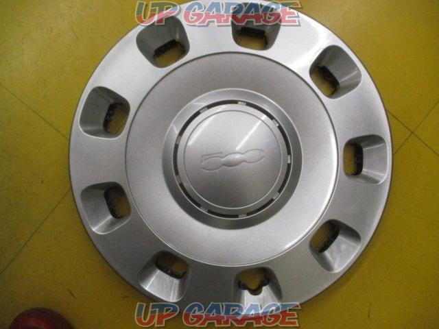 Fiat 500 genuine 14 inches wheel cap-01
