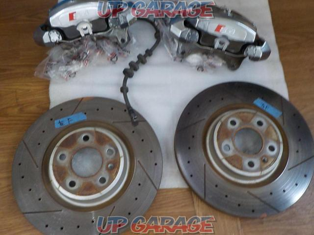 Audi Audi S4 B8.5 late genuine front brake + rotor set-01
