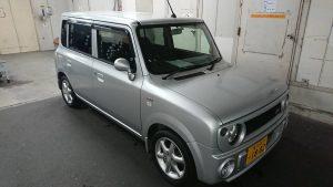 HE21SラパンSSの4WDの買取です。