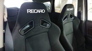 RECARO SR-7Fが装着されておりプラス査定とさせていただきました。