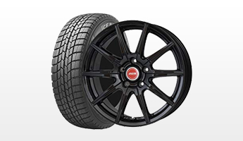 Studless winter tire & wheel packages