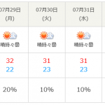 北海道もいよいよ暑くなりますよ~
