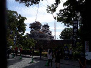 熊本城を見て改めて、人間の力は素晴らしい‼️